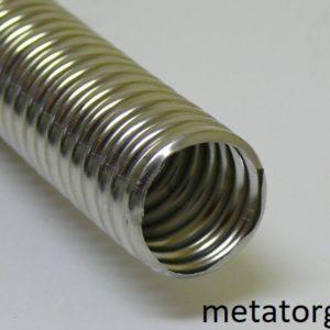 Труба гофрированная стальная